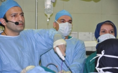 برگزاری Live Surgery Laparoscopic in Oncosurgery